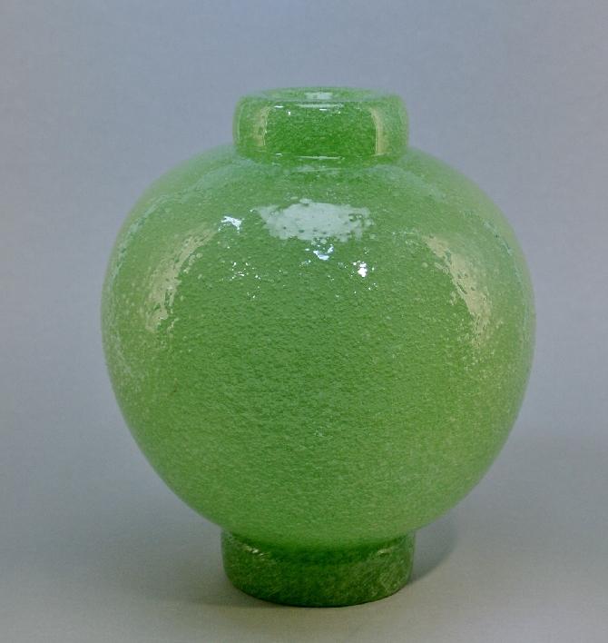 Murano-Vase-Entwurf-C-Scarpa-fuer-Venini-1935-pulegoso-signiert